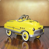 The Well Appointed House Dexton Taxi Comet Sedan Pedal Car for Kids - OUT OF STOCK UNTIL 2017