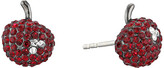 Marc by Marc Jacobs Cherry Pave Stud Earrings