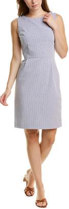 Brooks Brothers Seersucker Sheath Dress