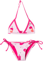 O'Neill Pink Oceano Ice Lolly Triangle Bikini