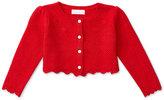 Ralph Lauren Girls' Embroidered Long-Sleeve Shrug