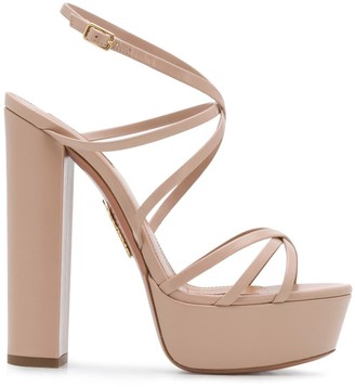 Aquazzura Gin Plateau 140mm sandals