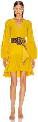 Silvia Tcherassi Filis Dress with Belt in Desert Marigold | FWRD