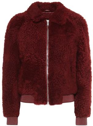 Isabel Marant Salvia shearling bomber jacket