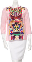 Mary Katrantzou Silk Ornate Print Top w/ Tags