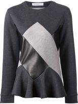 Viktor & Rolf patchwork sweatshirt