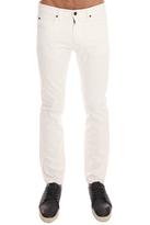 Helmut Lang OD White Wash Skinny Jean