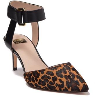 Louise et Cie Grettah Leather Ankle Strap Pump
