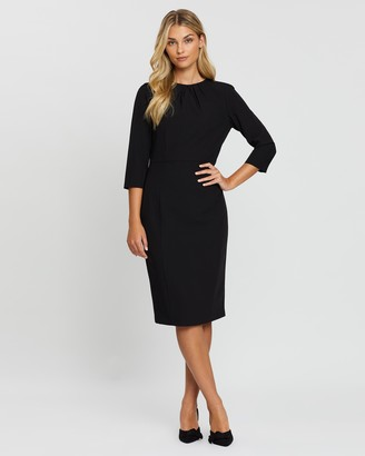 Dorothy Perkins High Neck 3/4 Sleeve Dress