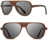 Shwood 'Medford' 56mm Wood Sunglasses