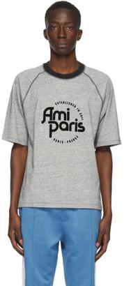Ami Alexandre Mattiussi Grey Ami Paris T-Shirt