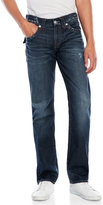 True Religion Distressed Straight Fit Jeans