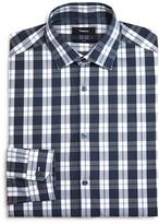 Theory Lamoka Exploded Check Slim Fit Dress Shirt