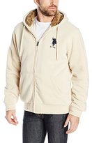 U.S. Polo Assn. Men's Sherpa-Lined Fleece Hoodie