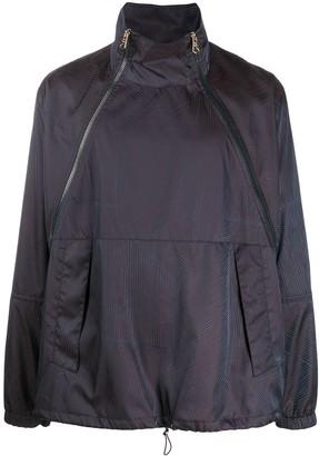 Paul Smith Funnel Neck Windbreaker Jacket
