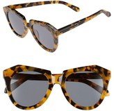 Karen Walker Women's 'Number One' 50Mm Sunglasses - Crazy Tortoise