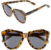 Karen Walker Women's 'Number One' 50Mm Sunglasses - Crazy Tortoise