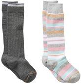 Gold Toe Girls GOLDTOE 2-pk. Striped Knee-High Socks