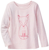 Joe Fresh Embellish Fox Top (Toddler & Little Girls)