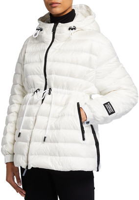 Burberry Staithes Lightweight Hooded Puffer Jacket