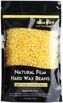 Bluezoo Stripless Professional Hot Film Hair Removal Hard Wax Beans,Ideal Depilatory Wax for All kinds of Skin Types,250g/Bag