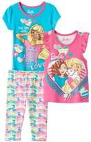 "Barbie Toddler Girl Live Life with Love"" Tees & Leggings Set"