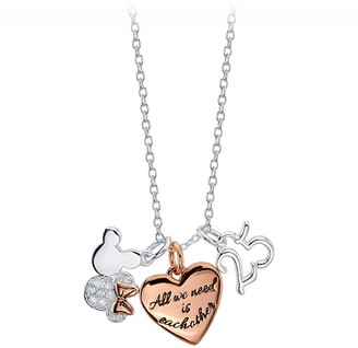 Disney Mouse ''25'' Charm Necklace