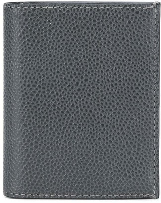 Thom Browne Pebble Leather Double Card Holder