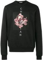 Christian Dior flower and skull sweatshirt - men - Cotton - S