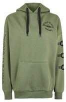 Topshop Tall Oversized Airforce Hoodie