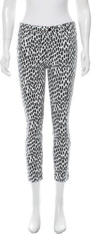 Mother Printed Skinny Pants w/ Tags