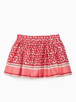 Kate Spade Toddlers floral tile skirt