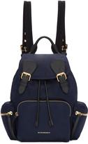 Burberry - Sac à dos bleu Medium