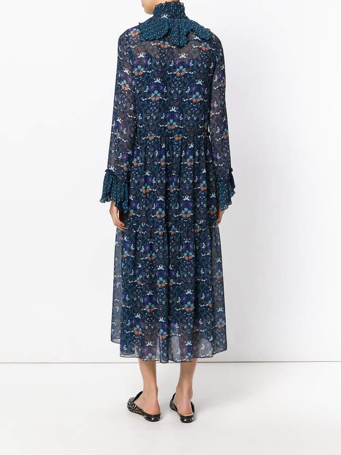 See by Chloe printed floral maxi dress