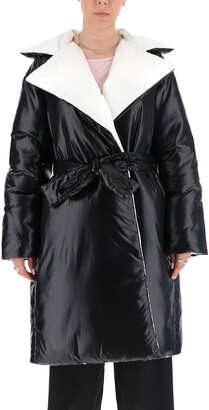 Givenchy Belted Padded Coat