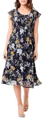 Ripe Fleur Button Back Dress