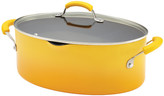 Rachael Ray Porcelain Nonstick 8 Qt. Stock Pot with Lid