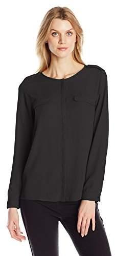Dockers Women's Crepe Pocket Shirt