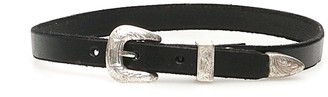 R 13 Leather Choker Necklace