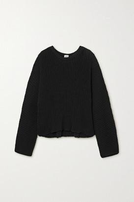 Base Range Kai Ribbed Organic Cotton Sweater