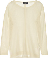 Magaschoni Open-knit cashmere sweater