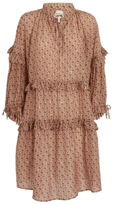 MUNTHE Maggie Floral Mini Dress