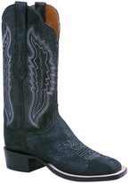 Lucchese Silver Wash Cowboy Leather Boot - Wide Width Available