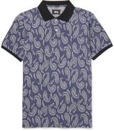 Stüssy - Paisley Cotton-jacquard Polo Shirt