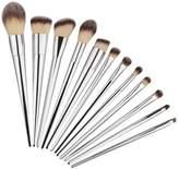 Awtang 12pcs/set Makeup Cosmetic Brushes Set Blending Powder Foundation Eyeshadow Lip Concealer Blush Brush Tool