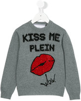 Philipp Plein Junior Kiss the Plein jumper