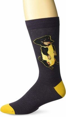 K. Bell Socks mens Play on Words Novelty Crew Casual Sock