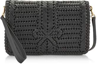 Anya Hindmarch Woven Calf Leather The Neeson Crossbody Bag