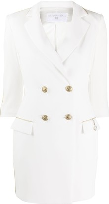 Elisabetta Franchi Double-Breasted Button Detail Dress