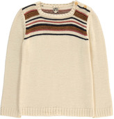 Bonton Stripe Alpaca Wool Jumper